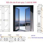 Cách làm cửa nhôm việt pháp hướng dẫn chi tiết