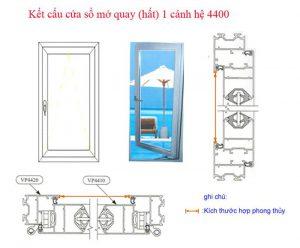Kích thước cửa nhôm việt pháp hợp phong thủy
