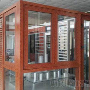 Sản phẩm mẫu cửa nhôm Zhongkai AG