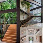 Tổng hợp [25 mẫu] lan can cầu thang có kiểu dáng thiết kế đẹp hiện nay