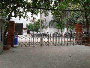 Mẫu cổng xếp cơ quan xí nghiệp Lilama tại hà nội