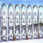 [Xem ngay] 10 mẫu cửa cổng xếp điện inox thông dụng được khách hàng lựa chọn nhiều