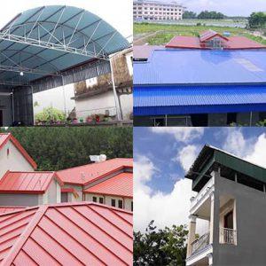 Các loại tôn lợp mái nhà giá rẻ bền đẹp cùng thời gian