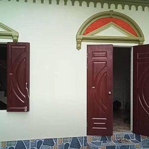 Mẫu cửa pano sắt đi và cửa sổ mở 2 cánh đẹp