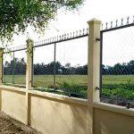 Cách làm hàng rào đơn giản từ thép B40 mắt cáo hay lưới kẽm bán sẵn
