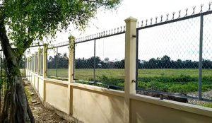 Cách làm hàng rào lưới B40 mắt cáo đơn giản dễ dàn