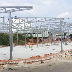 Mái tôn nhà xưởng dài trên 100m
