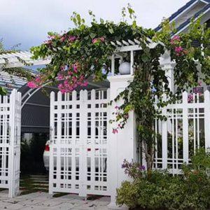 Mẫu tường hàng rào đẹp cho biệt thự giá rẻ tại hà nội