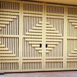 [Sốc] Giá gốc mẫu cửa sắt 4 cánh sơn tĩnh điện đẹp cao cấp cho nhà sang